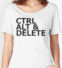 CTRL ALT DELETE Women's Relaxed Fit T-Shirt