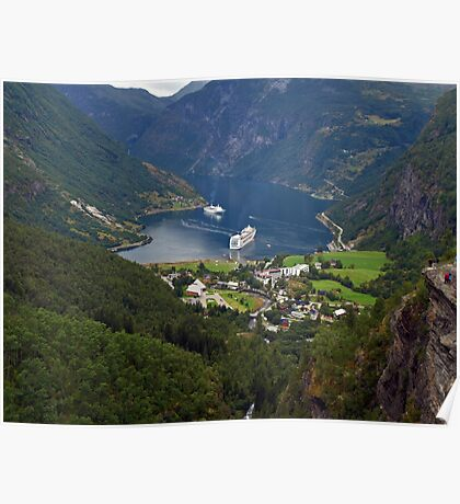 Geiranger, Norway Poster