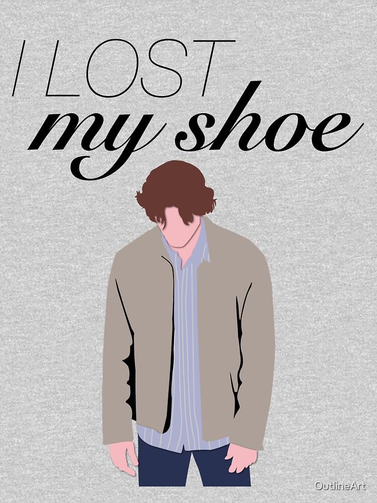 Perdí mi zapato Sam Winchester de OutlineArt