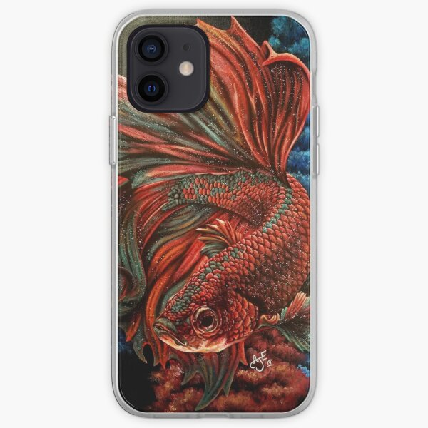 Fire and Ice -part 2 iPhone Soft Case