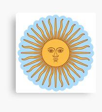 Cool Sun >Cute design< Canvas Print