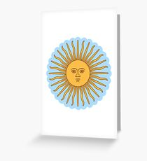 Cool Sun >Cute design< Greeting Card