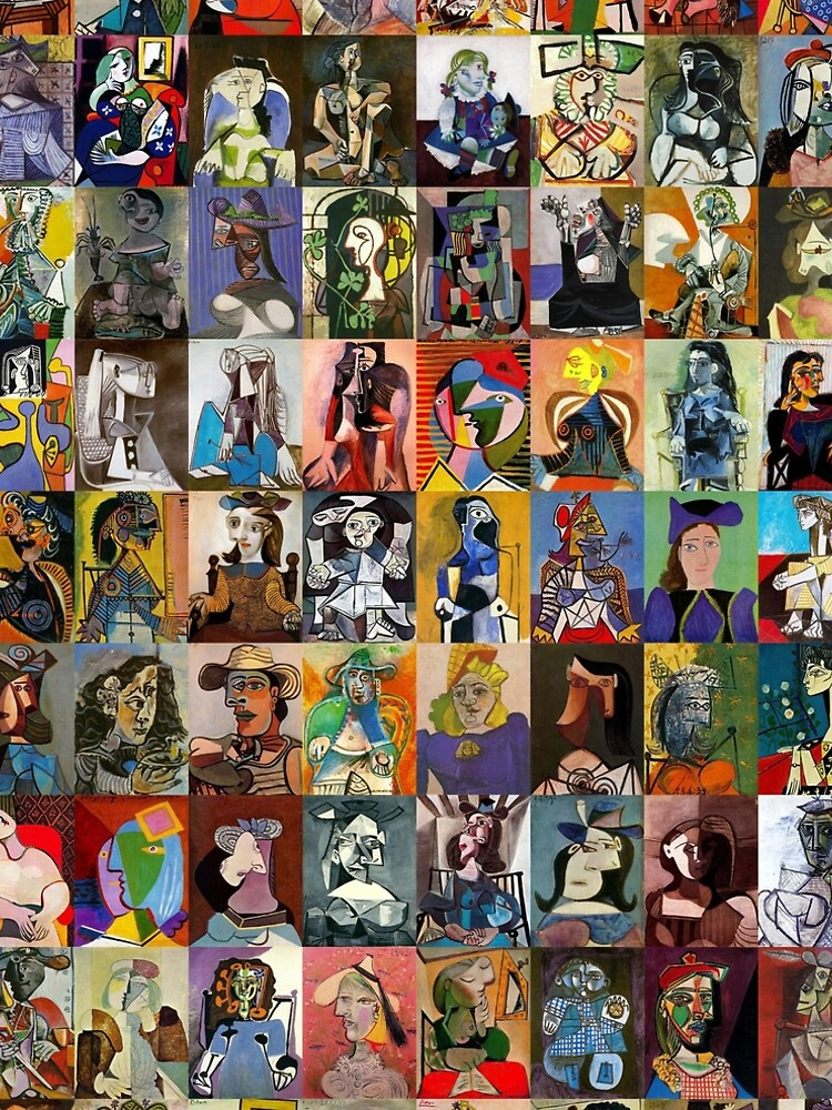 Picasso Faces by Montage-Madness