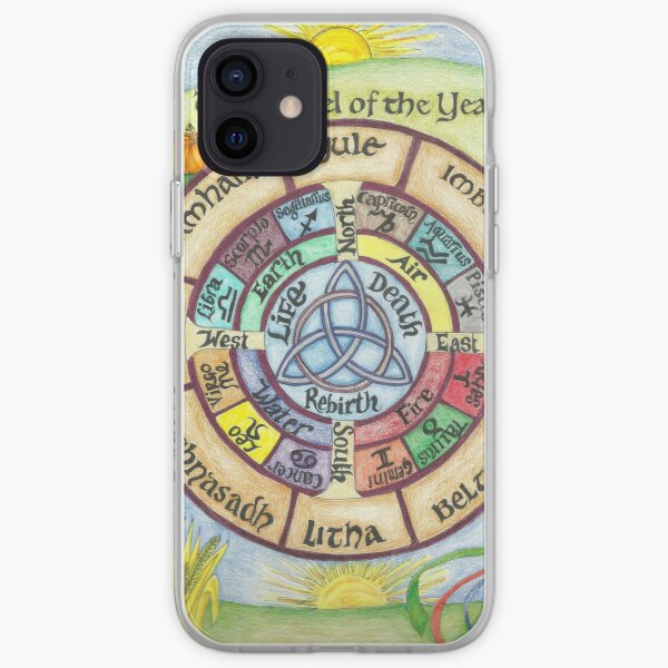 Wheel of the Year iPhone Soft Case