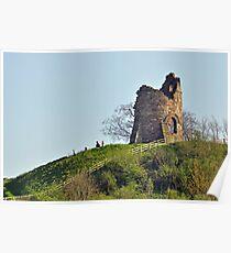 Tutbury Castle, Ruins Poster