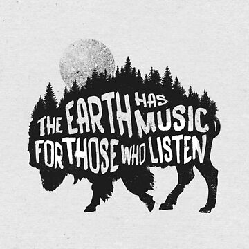 The earth has music for those who listen by pijaczaj