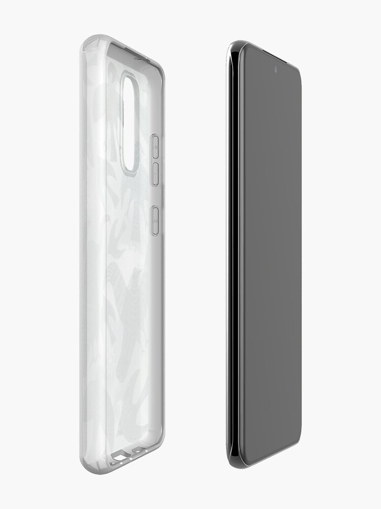 Alternate view of Ancient Green Birds Case & Skin for Samsung Galaxy