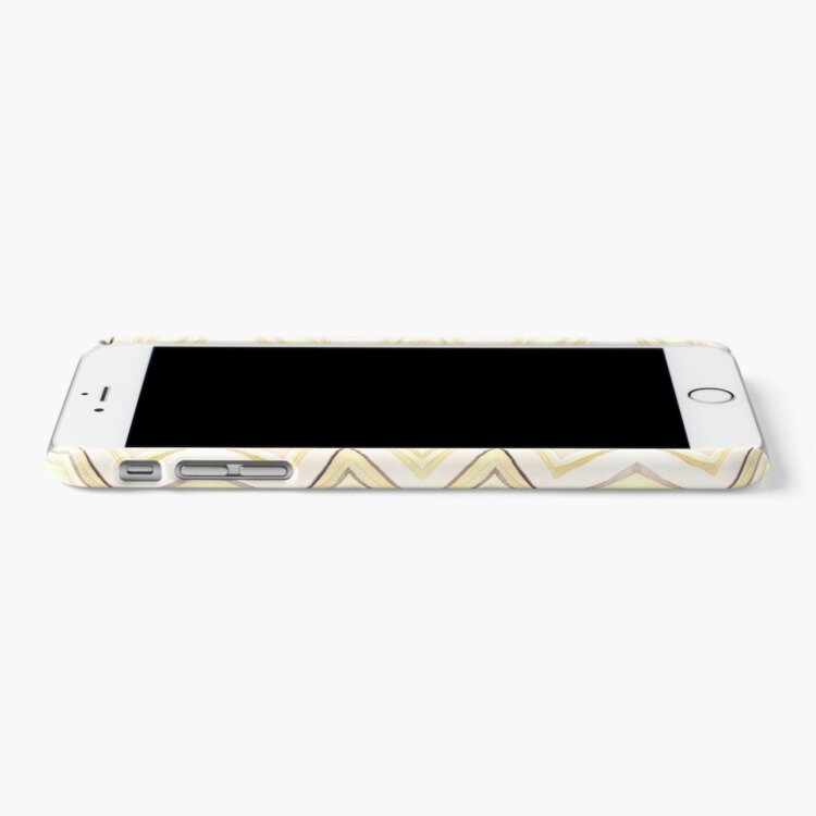 Alternate view of Zig Zag Dreams Watercolor Wonder iPhone Case & Cover