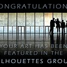 Featured Banner Silhouettes Group by smilyjay