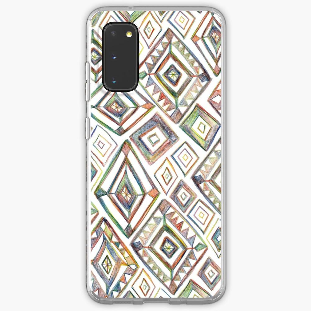 Rainbow Prism on White Case & Skin for Samsung Galaxy