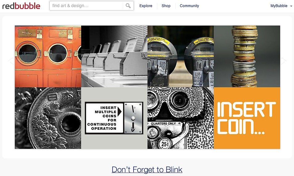 Coins - 22 February 2011 by The RedBubble Homepage