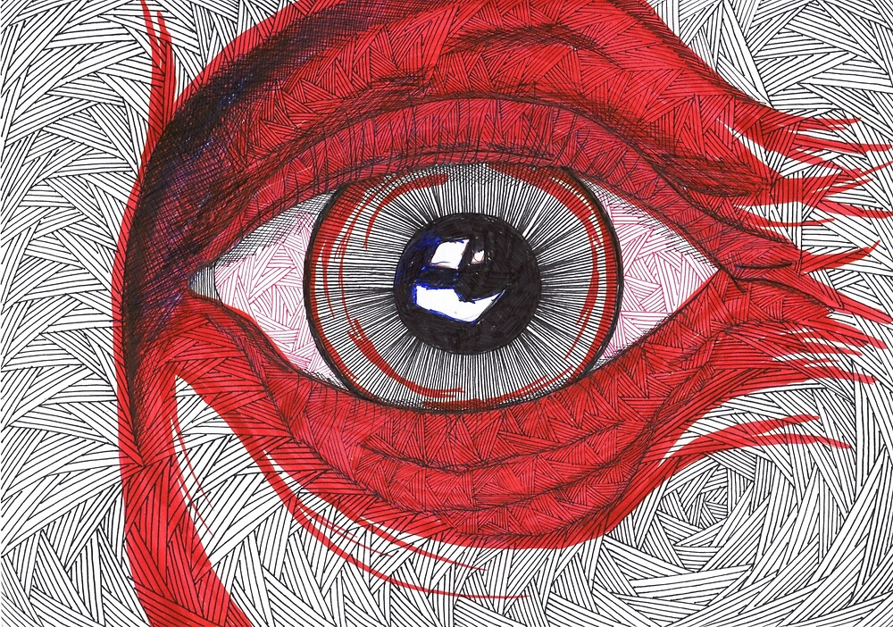 Eye - hypnotic look - faith and truth by GundW