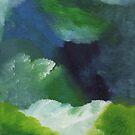 Seafoam Meadow by clarablack-ink