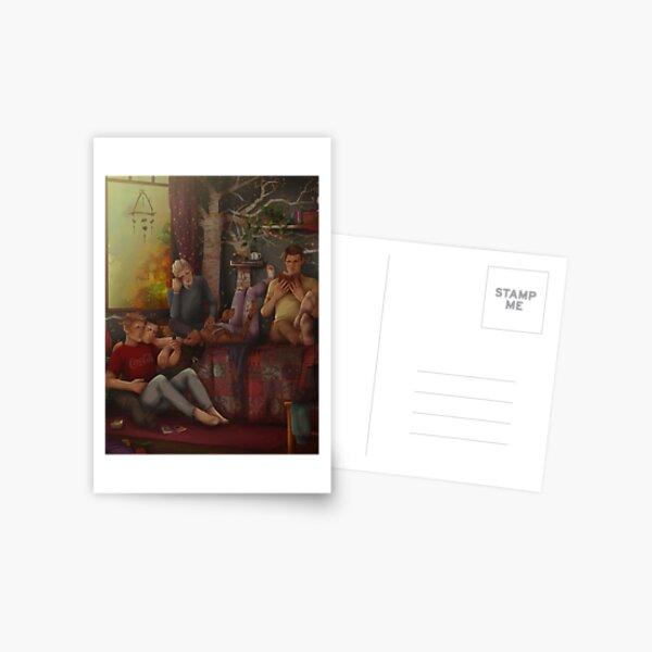 Copy of The Gangsey - Blue's room vers 2 Postcard