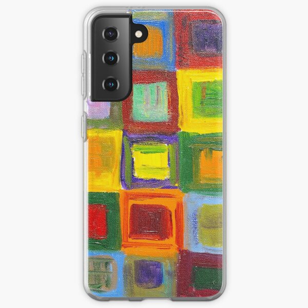 Square Dance 1 Samsung Galaxy Soft Case