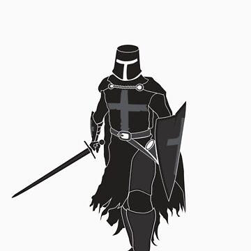 Knight Warrior (Black) by satorenalin