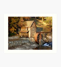 Sixes Road Grist Mill Art Print