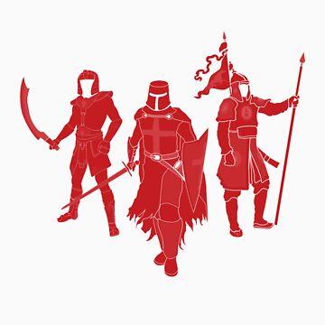 International Warrior 1 (RED) by satorenalin