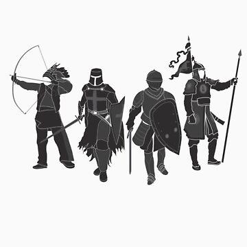International Warrior 4 (Black) by satorenalin