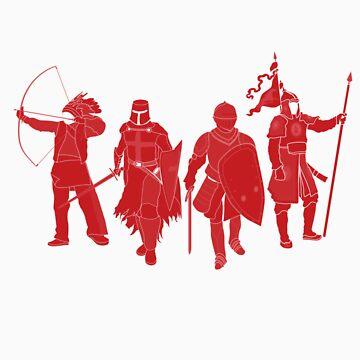 International Warrior 4 (RED) by satorenalin
