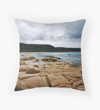 Honeymoon Bay - Croajingolong National Park Throw Pillow