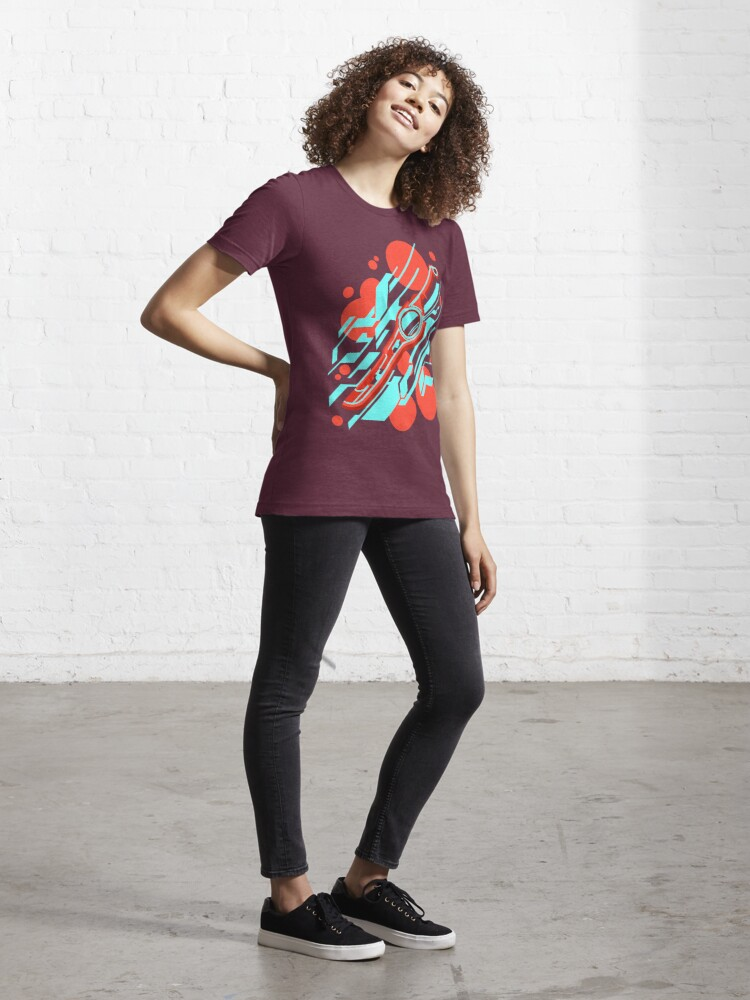 Alternate view of Monado Abstract Essential T-Shirt