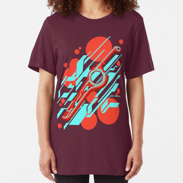 Monado Abstract Slim Fit T-Shirt