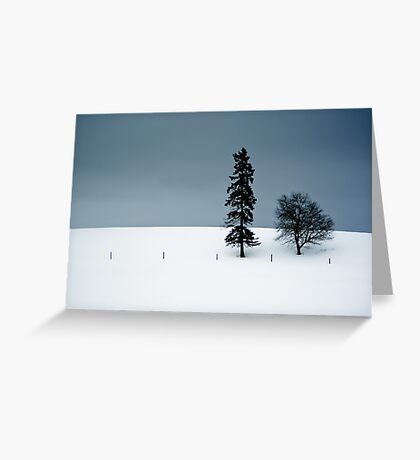 On the Ridge Greeting Card