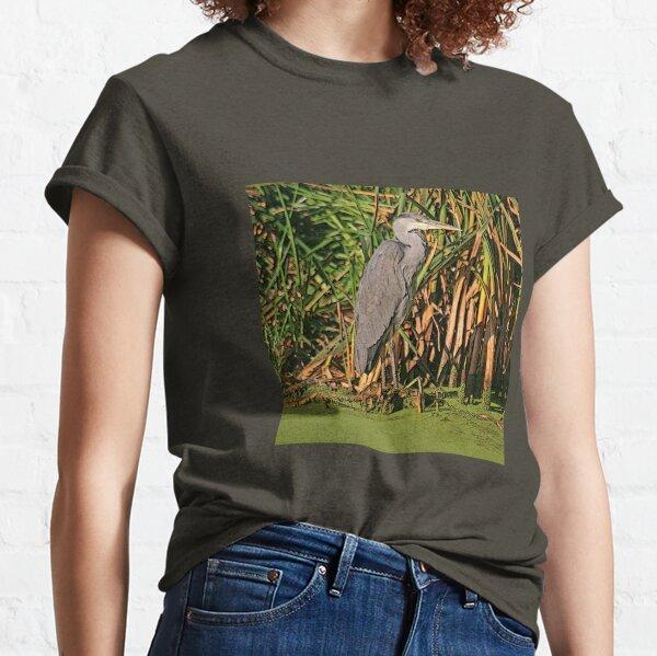 Grey Heron, October 2019 Classic T-Shirt