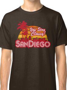 You Stay Classy! San Diego Classic T-Shirt