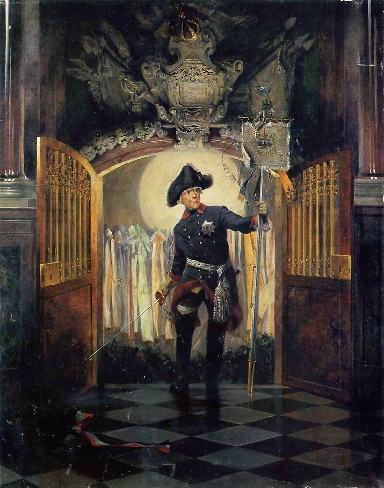 Frederick the Great, the immortal, by Georg Schöbel by edsimoneit