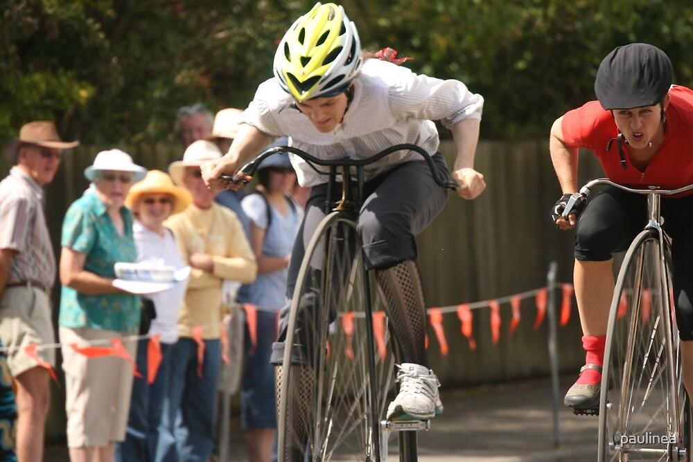 Penny Farthing Races, Evandale, Tasmania by paulinea