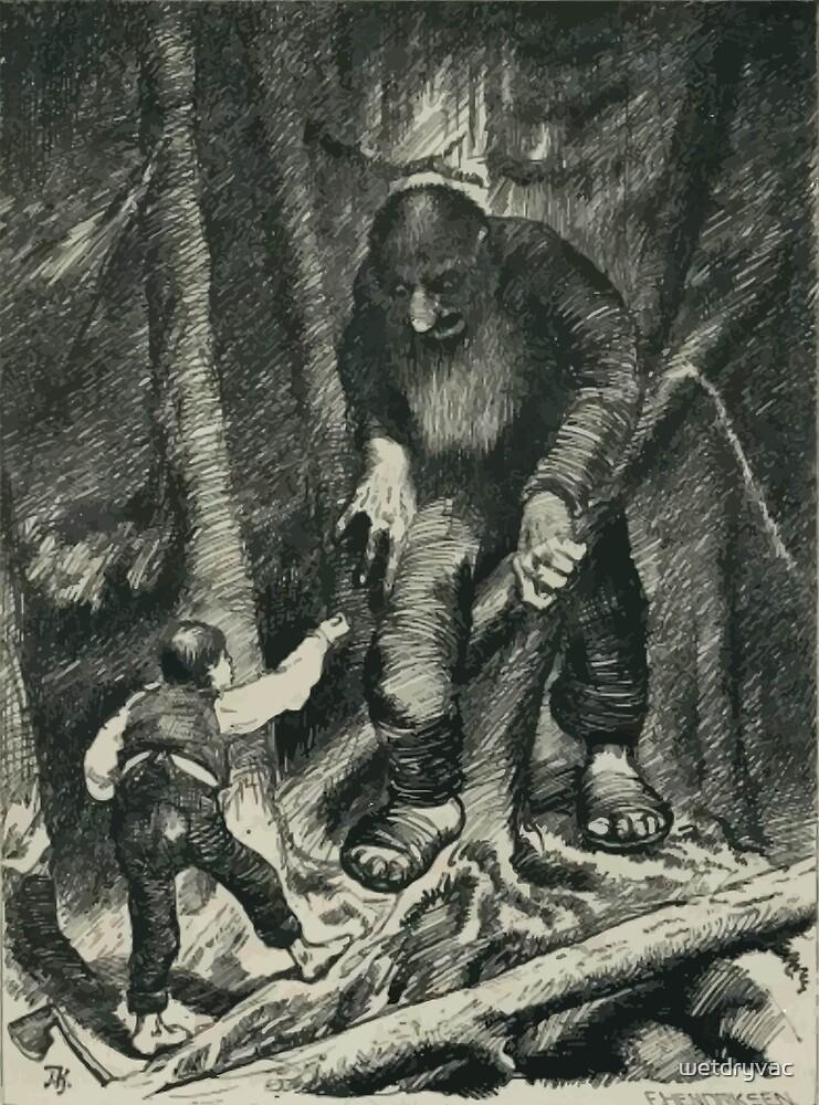 Theodor Kittelsen Illustration page32 Sagobok för barn by wetdryvac