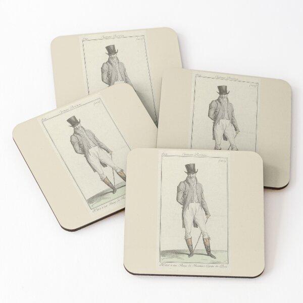 Journal des Dames et des Modes 1809 Coasters (Set of 4)