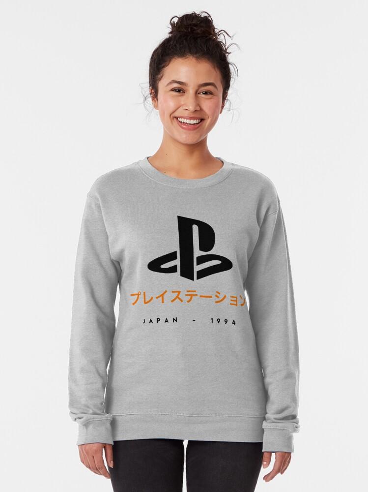 Alternate view of Playstation japanese t-shirt Pullover Sweatshirt