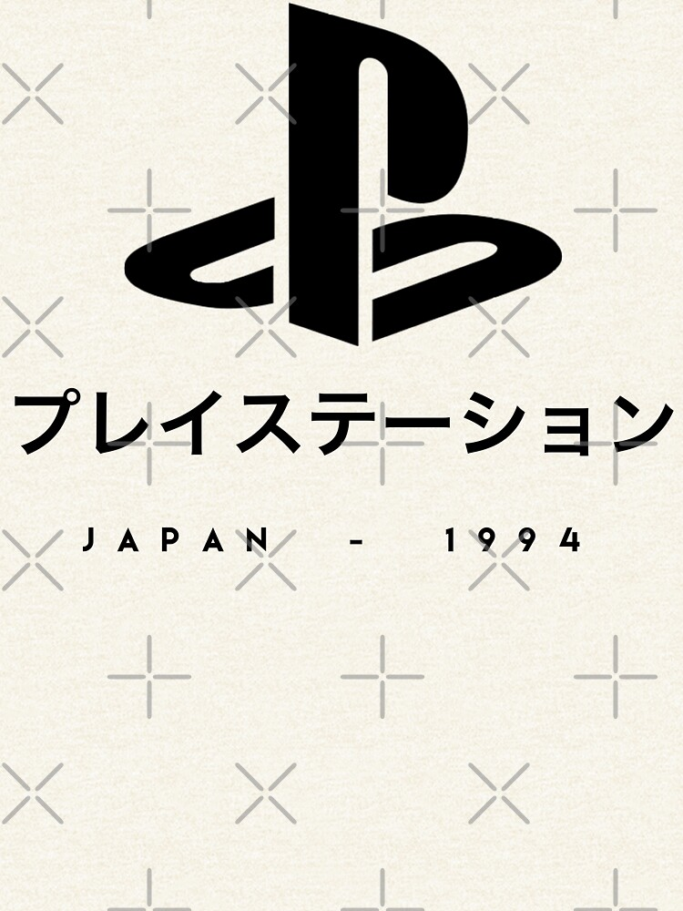 Playstation Japanese t-shirt by TheLuckyBoy