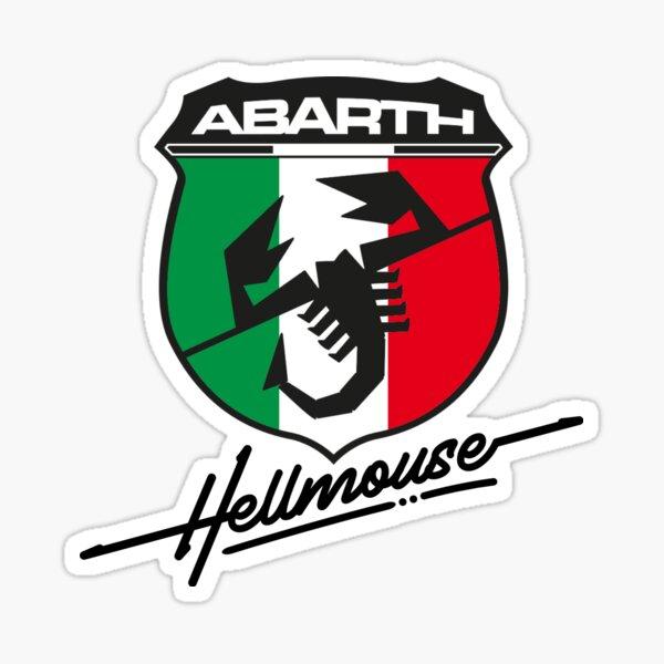 Fiat Hellmouse Abarth Design Sticker