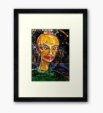 Yesterday Person Framed Print