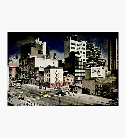 18th & 10th, a NYC Cityscape Photographic Print