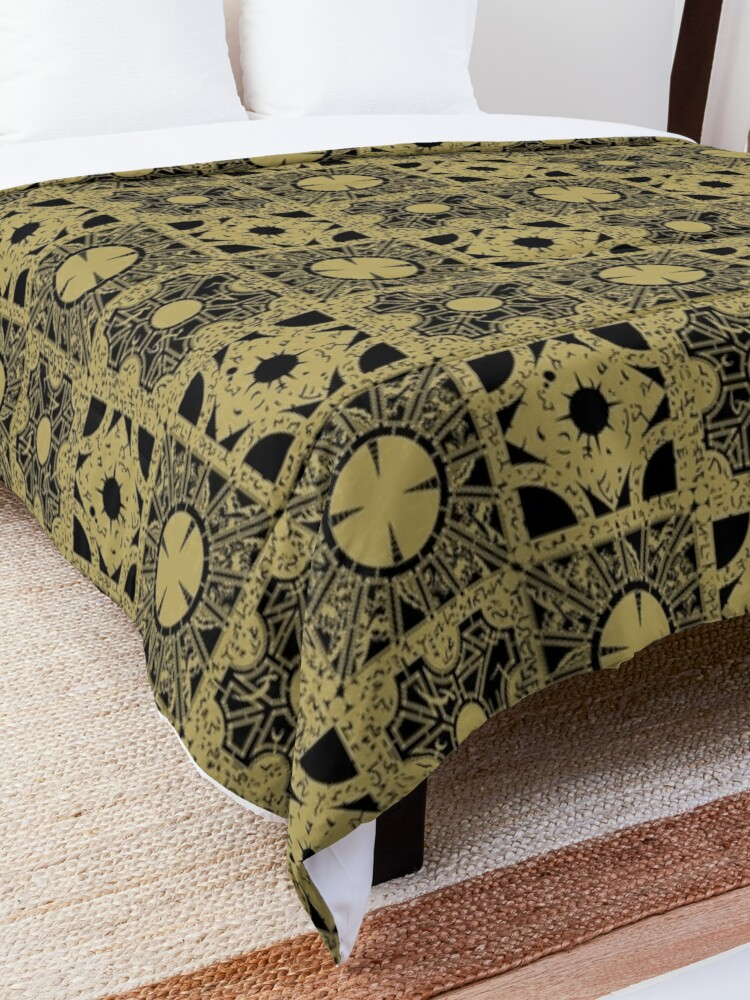 Alternate view of The Puzzlebox Pattern Comforter