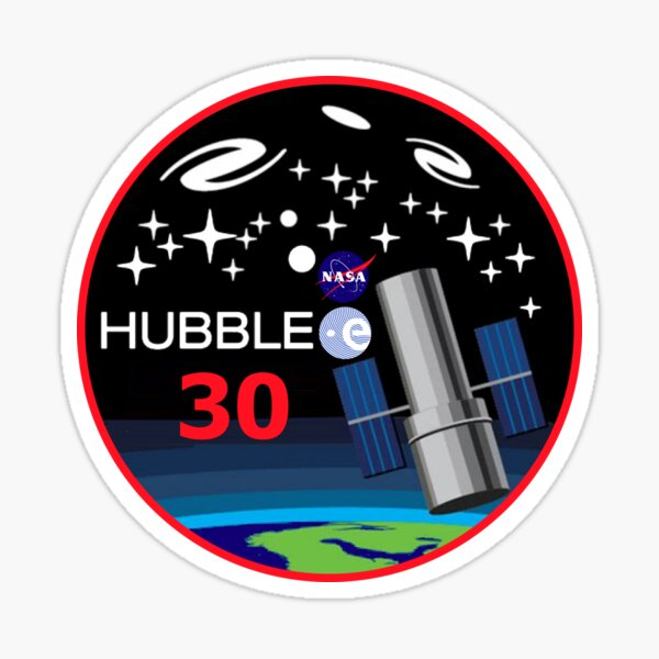 Hubble at THIRTY!! Sticker