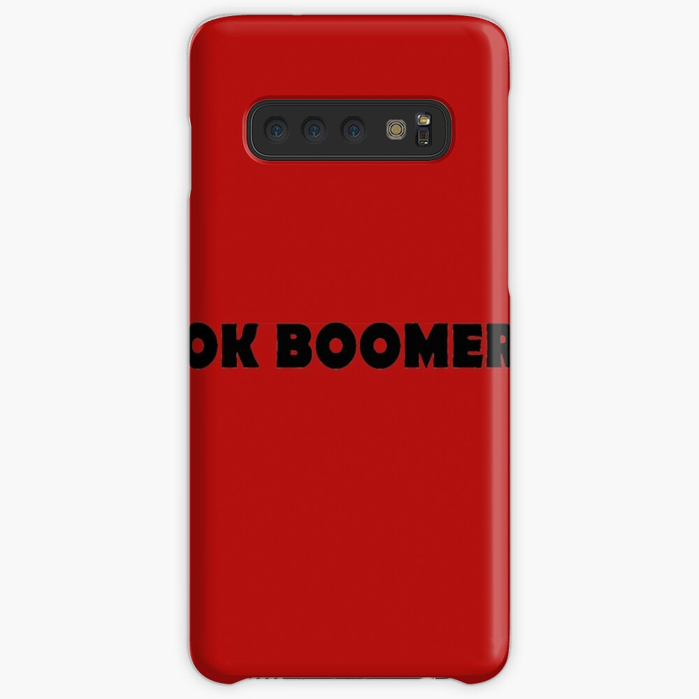 OK BOOMER - Okay, Boomer (rolling my eyes) Case & Skin for Samsung Galaxy