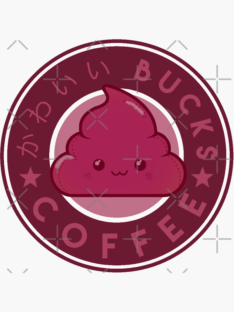 KawaiiBucks Coffee Japanese funny and cute by TheLuckyBoy