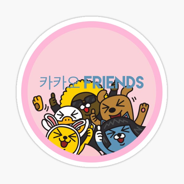 Kakao Friend's Korean style funny and cute Sticker