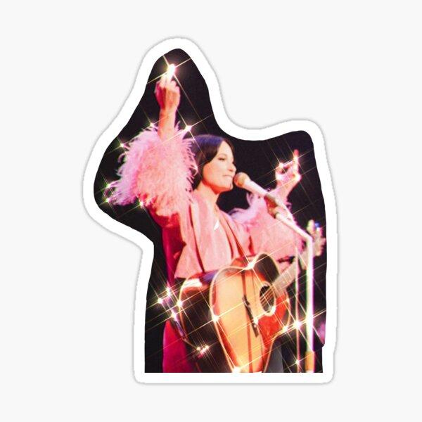 Kacey Musgraves Sparkling Middle Finger Sticker Sticker