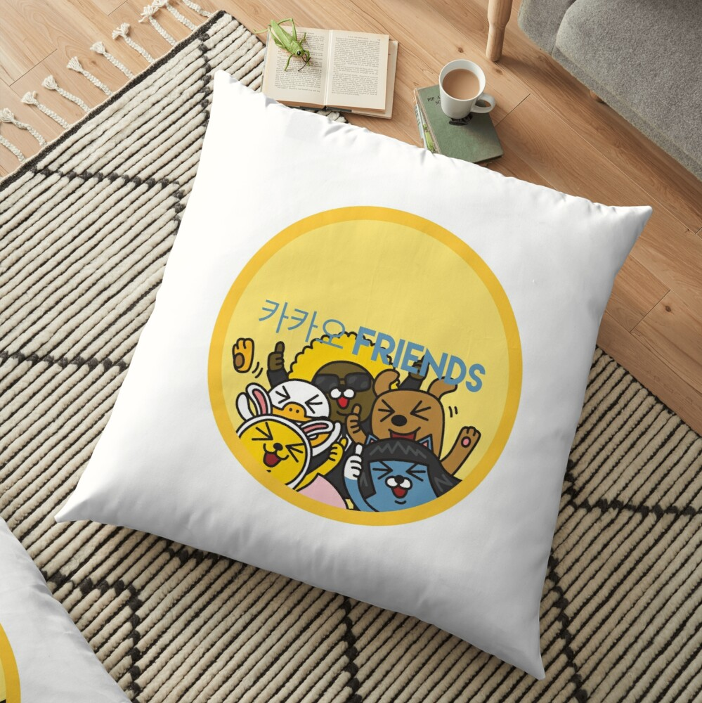 Kakao Friend's Korean style funny and cute Floor Pillow