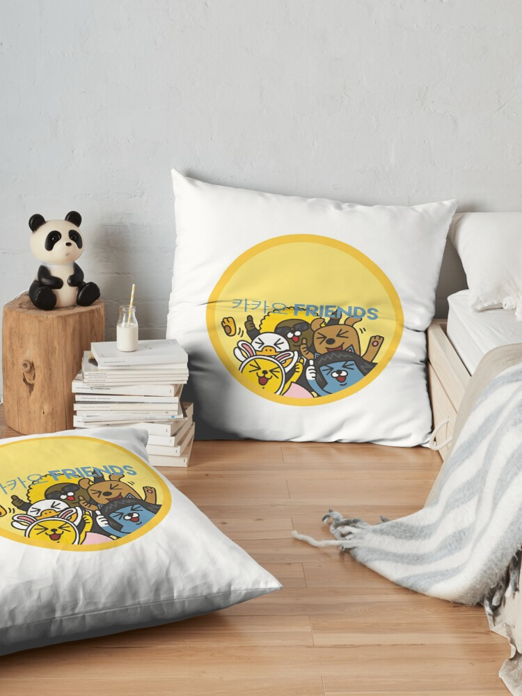 Alternate view of Kakao Friend's Korean style funny and cute Floor Pillow