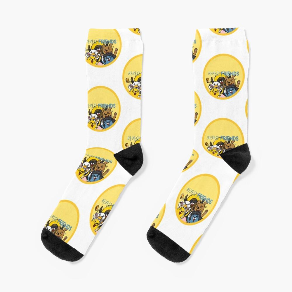 Kakao Friend's Korean style funny and cute Socks