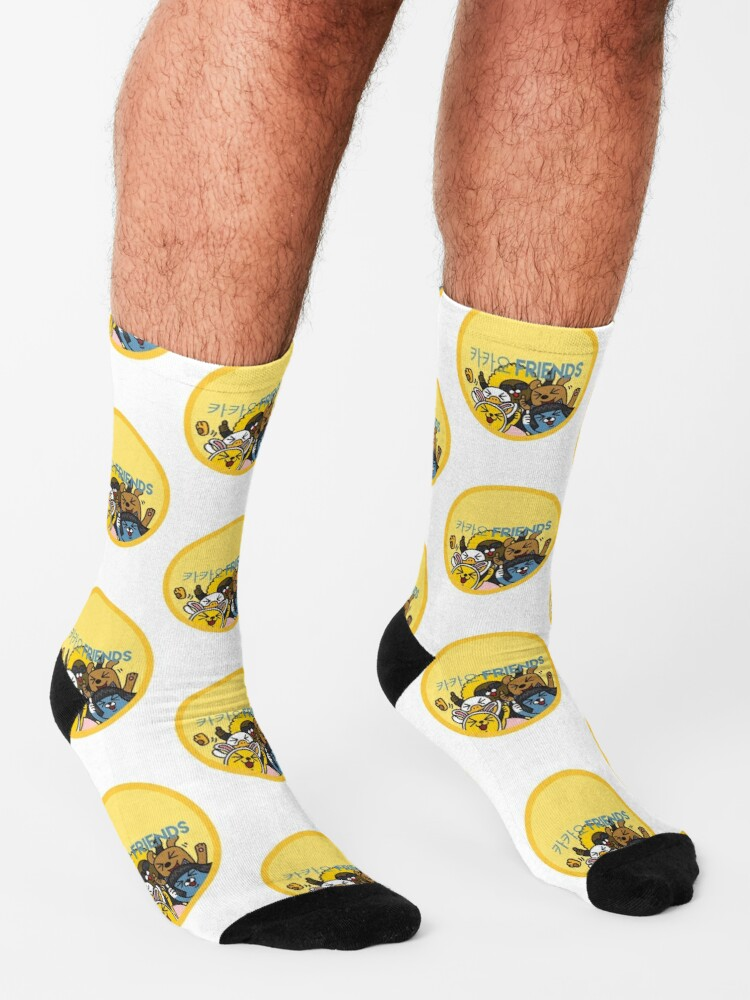 Alternate view of Kakao Friend's Korean style funny and cute Socks