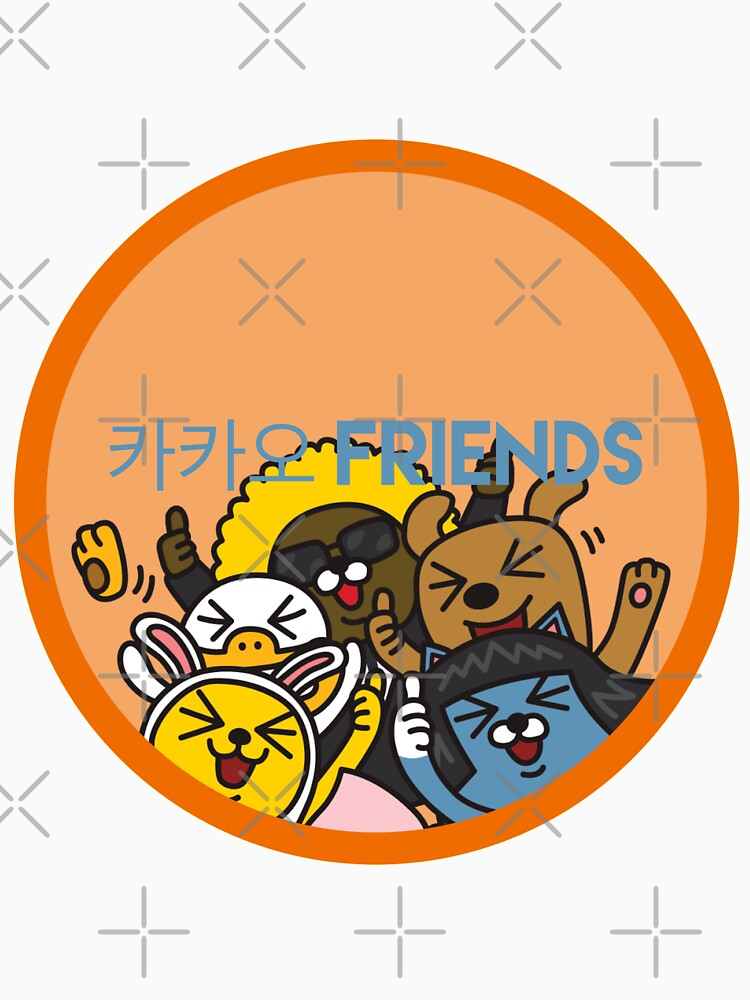 Kakao Friend's Korean style funny and cute by TheLuckyBoy